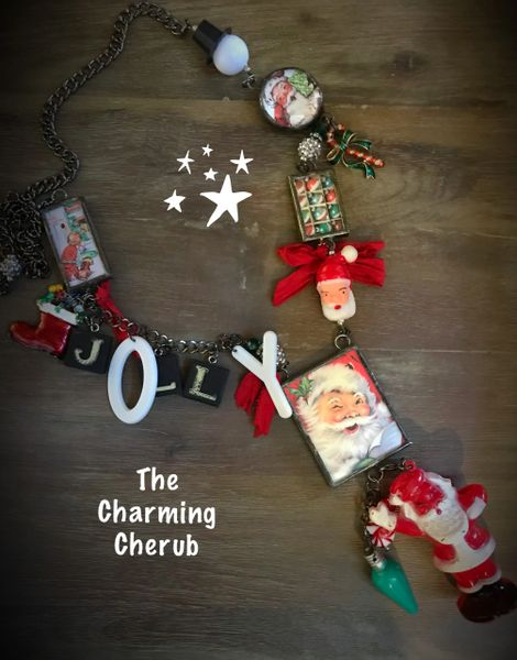 Jolly Santa Necklace
