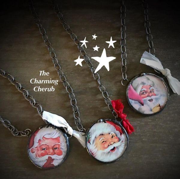 Santa hoho necklace