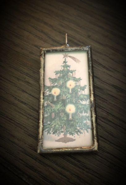 Vintage tree pendant