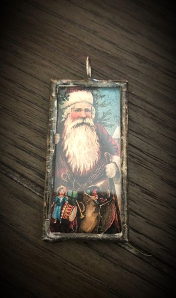 German Santa 2 pendant
