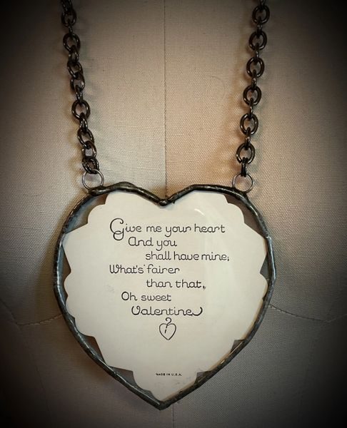 Original Valentines statement necklace