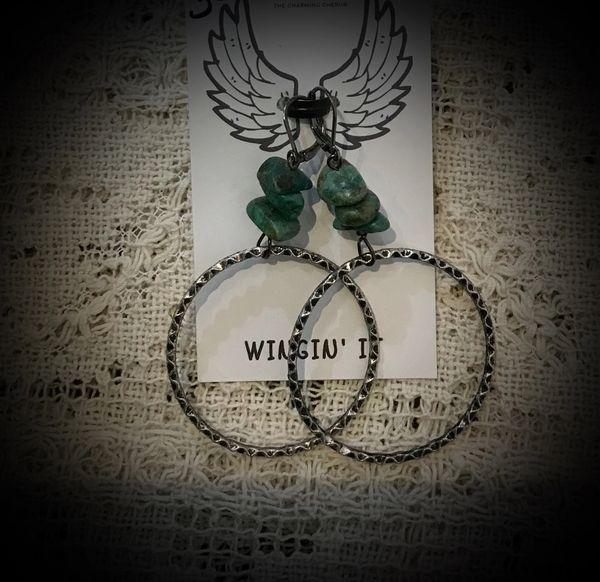 Gypsy earrings turquoise