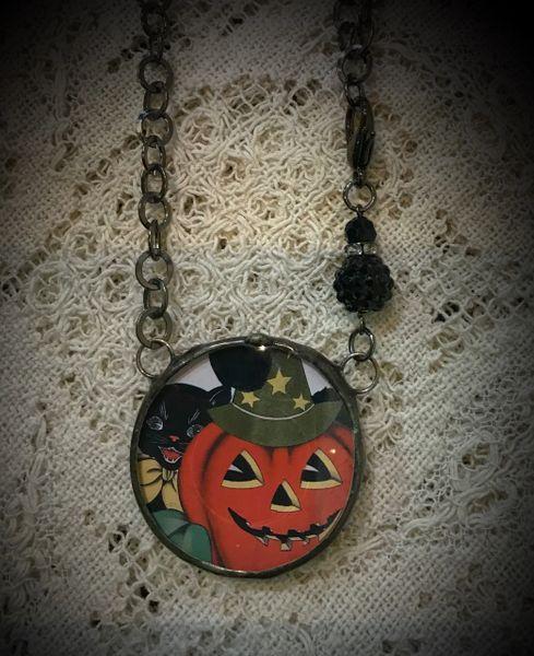 Round scary haloween