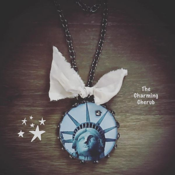 Lady Liberty necklace
