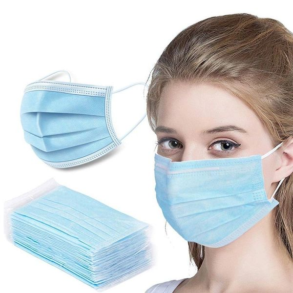 Disposable Medical Face Mask (Box of 50 Units)