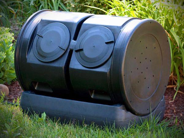 Dual Composting Tumbler
