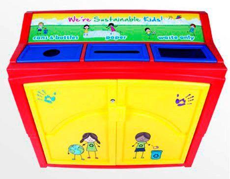 Kidz Sort Recycler Bin