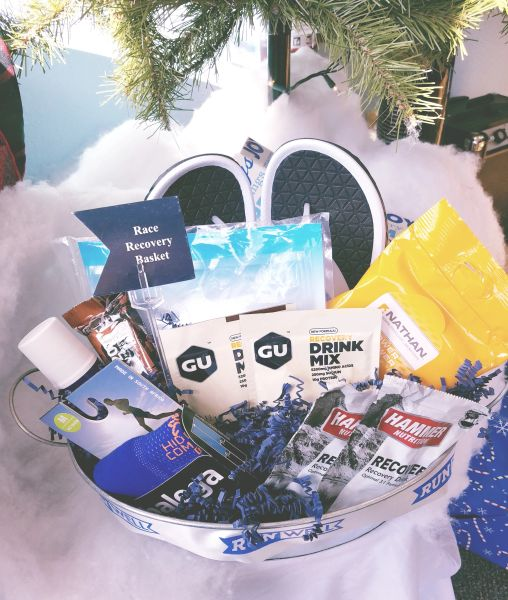 Race Recovery Runner Gift Basket