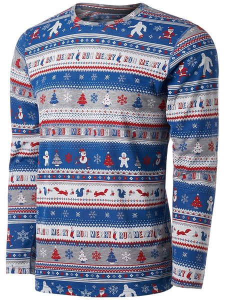 Mens Brooks Ugly Sweater Long Sleeve