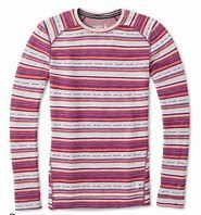 Smartwool Merino 250 Patterned Baselayer Top (Habanero)