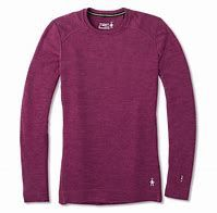 Smartwool Merino 250 Baselayer Top (Sangria)