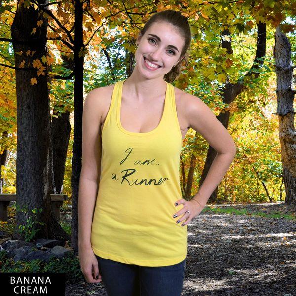 I am a Runner...RU? Racerback Tank