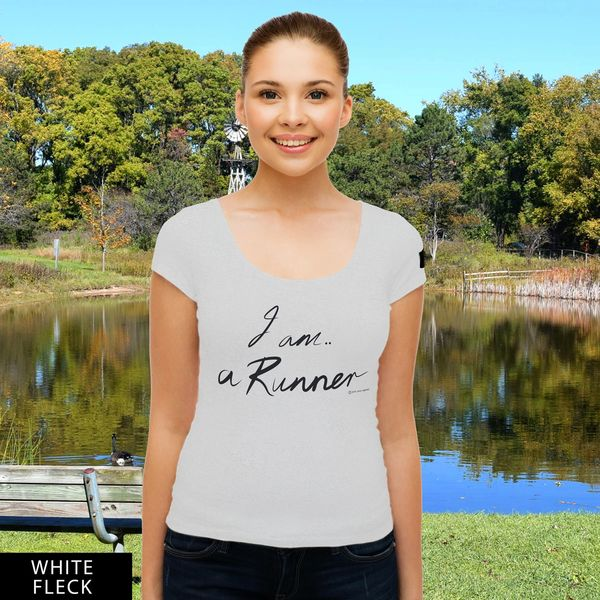 I am a Runner...RU? Round Neck T-Shirt