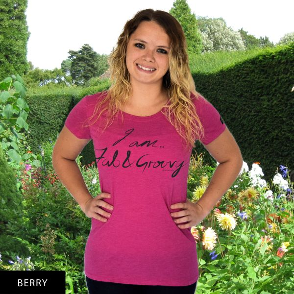I am Fab & Groovy...RU? Round Neck T-Shirt