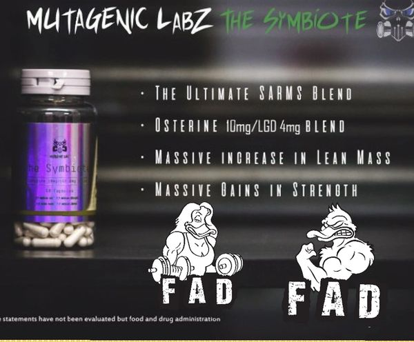 Mutagenic Labz The Symbiote 60 Capsules