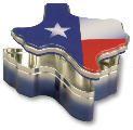 Texas-shaped Tin of Treats