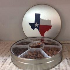 Round Texas Tin of Treats