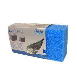 BioTec 18, 36, 18000, 32000 Filter Foam BLUE 40978
