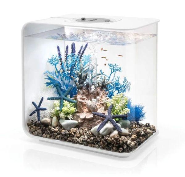 biOrb FLOW 30L Aquarium with MCR Lighting - White 46885