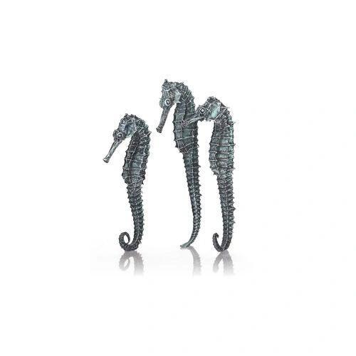 biOrb Seahorse Set of 3 metallic black 55064
