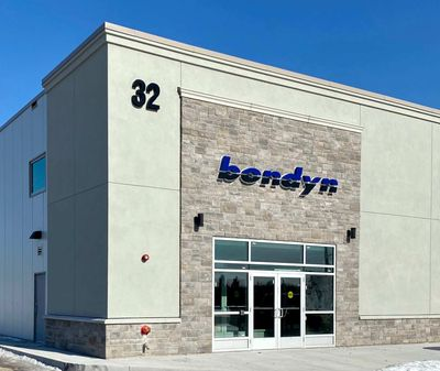 A photo of Bondyn's head office and parts warehouse