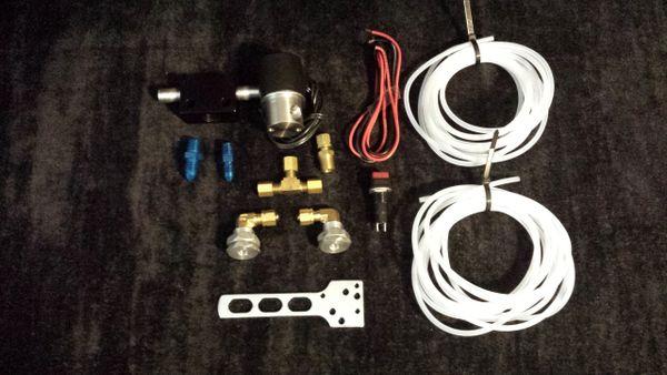 Twin line nitrous purge kit