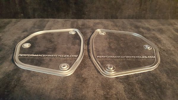 ZX14R clear inspections plates