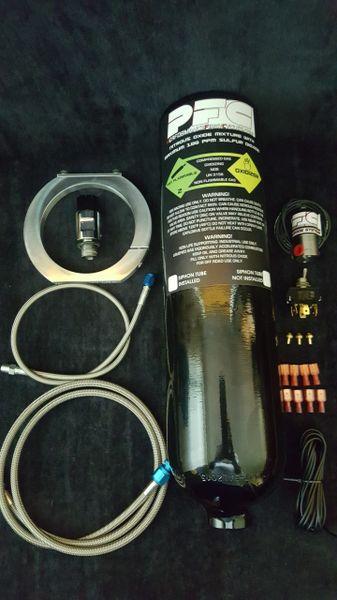 4lb nitrous kit with billet bottle bracket