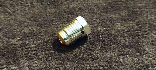 Nitrous Bottle burst disk (coarse threads)