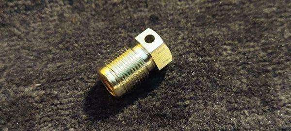 Nitrous Bottle burst disk (fine threads)