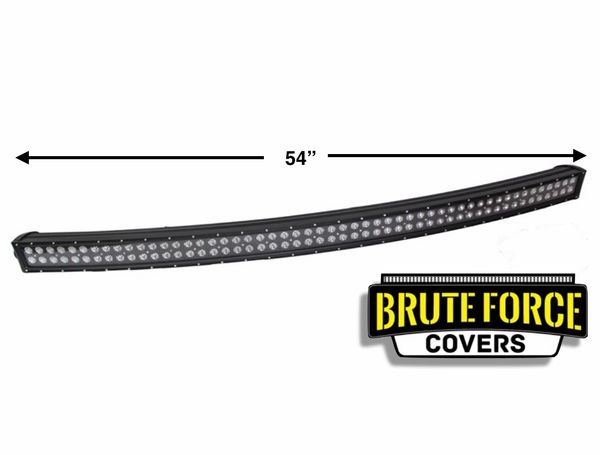 54 Inch Curved Double Row Led Light Bar Cover