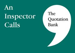 The Quotation Bank - An Inspector Calls GCSE Revision and Study Guide for English Literature 9-1