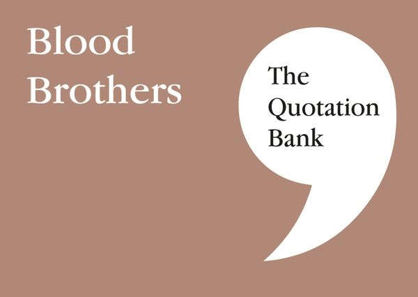 The Quotation Bank - Blood Brothers GCSE Revision and Study Guide for English Literature 9-1