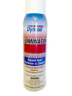 Dymon Eliminator Carpet Spot Remover & Cleaner (12ct/cs)