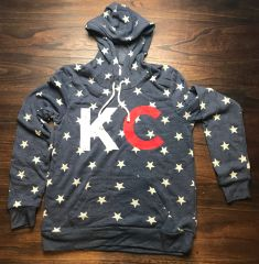 KC Stars Super Soft Women's Hoodie Triblend