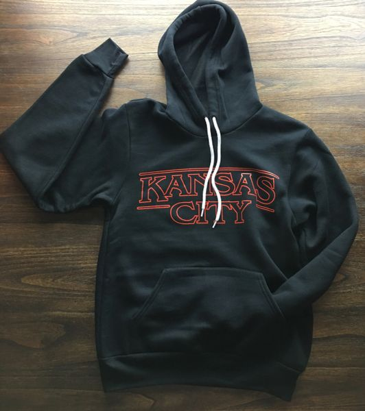 Kansas City Super Soft Hoodie Unisex Black