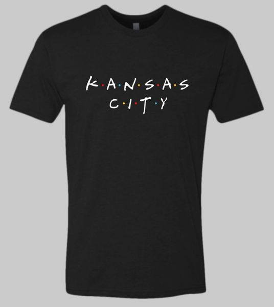 KC Friend Unisex Super Soft Crew Tee Solid Black
