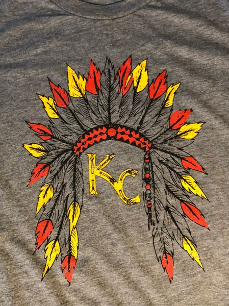 KC Headress Super Soft Gray Crew Triblend