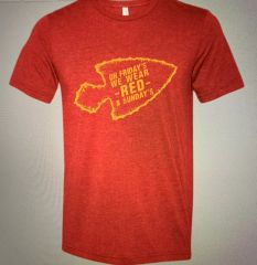 Fridays We Wear RED Super Soft Red Crew Triblend