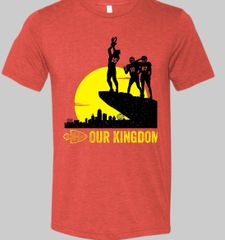 Our Kingdom Super Soft Red Crew Triblend