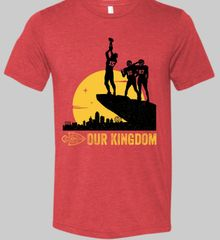 Our Kingdom Champs Super Soft Red Crew Triblend