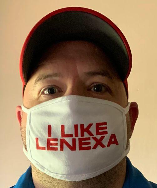 I Like Lenexa FACE Mask - 100% cotton