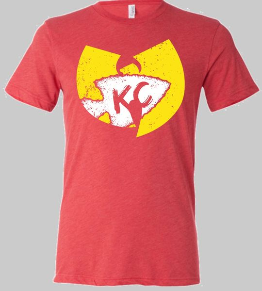 Wu KC Clan Unisex Super Soft Crew Red