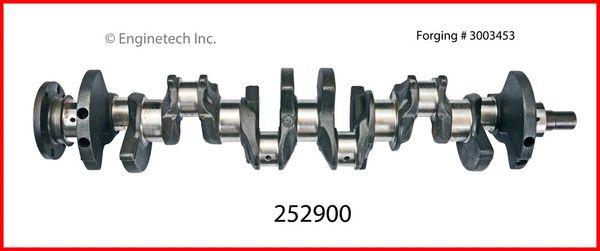 Crankshaft Kit (EngineTech 252900) 87-90