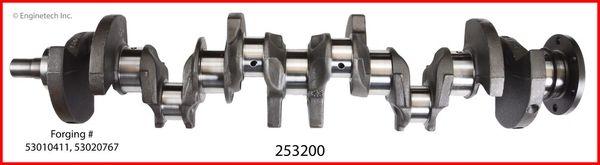 Crankshaft Kit (EngineTech 253200) 91-02