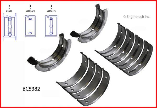 Main Bearing Set (EngineTech BC5382) 98-14