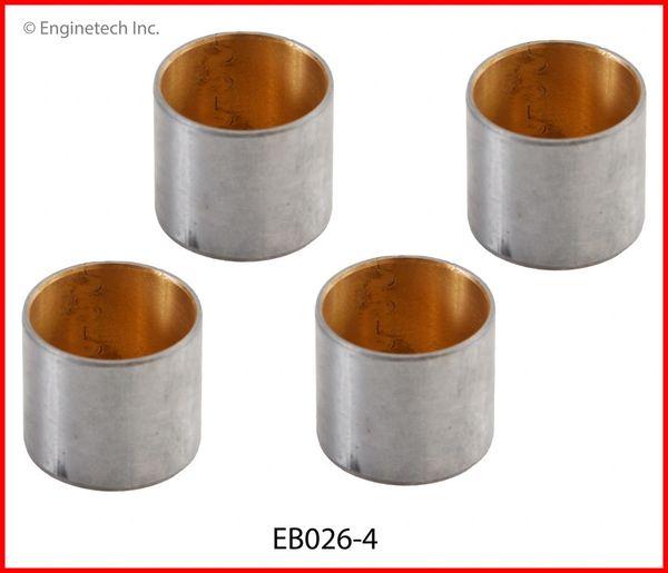 Piston Pin Bushing Set (EngineTech EB026-4) 90-14