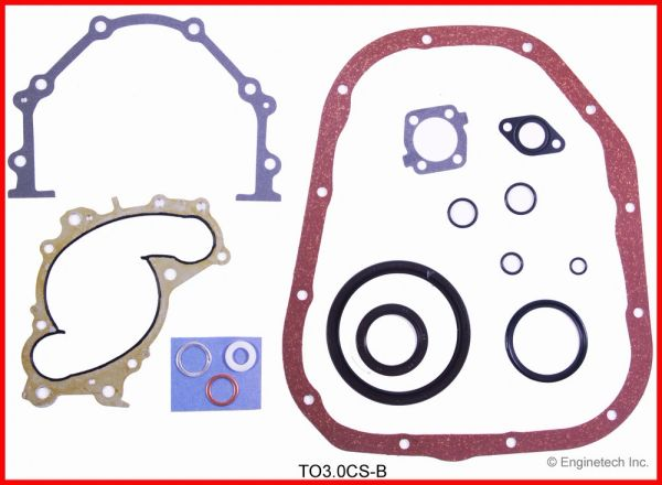 Conversion Gasket Set (EngineTech TO3.0CS-B) 94-08