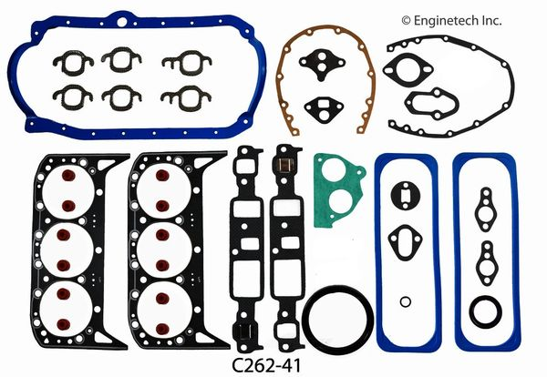 Full Gasket Set (EngineTech C262-41) 86-93