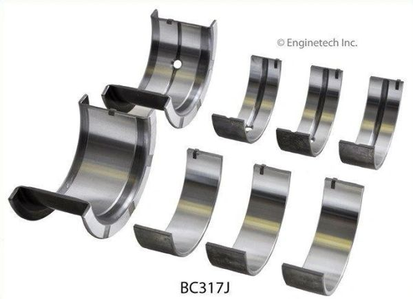 Main Bearing Set (EngineTech BC317J) 78-13